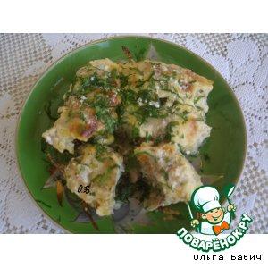 Рецепт: Рыбные рулетики с грибами