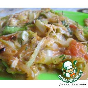 Рецепт: Рагу из молодой капусты