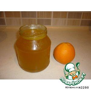 Рецепт: Cироп апельсиновый