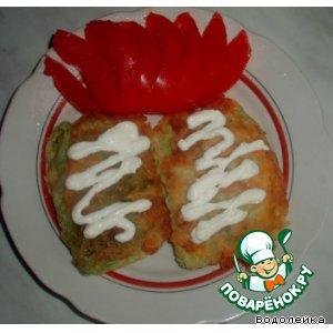 Рецепт: Шницель с капустой
