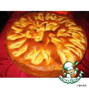 Рецепт: Пирог по-эльзасски