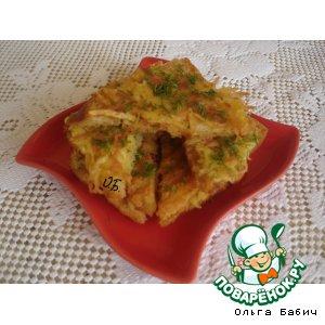 Рецепт: Горячие бутерброды с картофелем