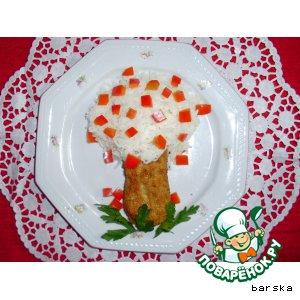 Рецепт: Рыбные зразы - картинки для детей