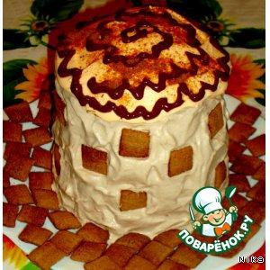 """Рецепт: Бисквитный   торт   """"Толстая    Маргарита"""""""