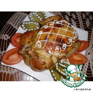 Рецепт: Курица фаршированная