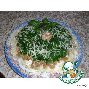 Рецепт: Салат Поляна