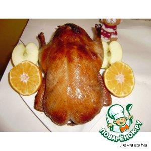 Рецепт: Утка медовая