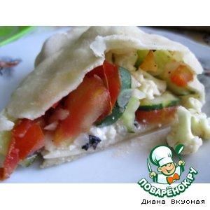 Рецепт: Лже-штрудель с овощами