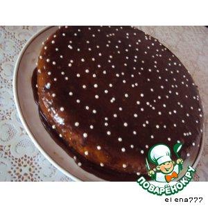Рецепт: Торт Жемчужина Востока