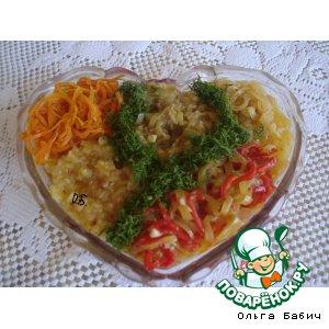 Рецепт: Чисанги-овощи по-китайски