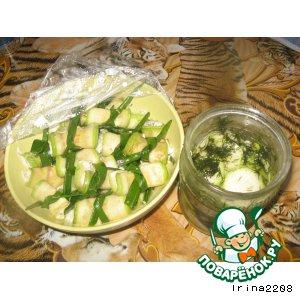 Рецепт: Закуски из кабачков