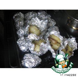 """Рецепт: Картофельный гарнир """"Бомбочки"""""""