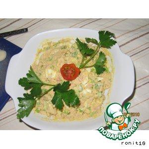 Рецепт: Салат с тунцом-2