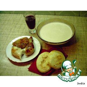 Рецепт: Ореховый соус Баже