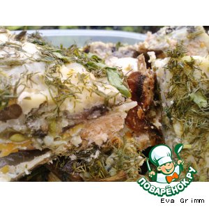 Рецепт: Рыбная запеканка Дачная