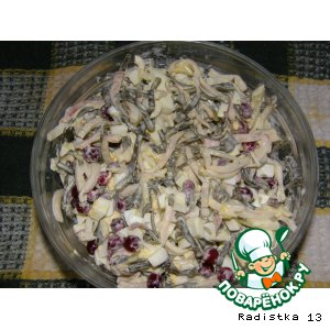 Рецепт: Салат для Мамочки