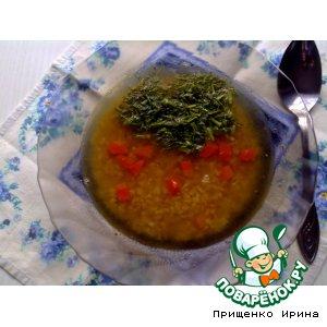 Рецепт: Суп из чечевицы