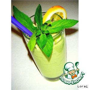 Рецепт: Зеленый смузи Вкусно и полезно