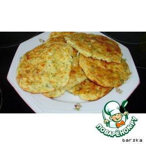 Рецепт: Сырные лепeшки 1