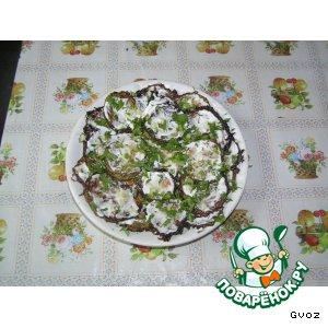 Рецепт: Жареные кабачки