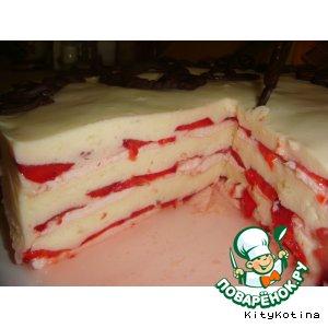 Рецепт: Летний торт Облака любви
