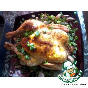Рецепт: Курица 40 зубчиков чеснока