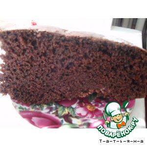 Рецепт: Торт Шоколад на кипятке