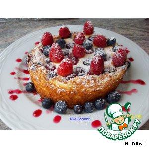 Рецепт: Нежный пирог с творогом