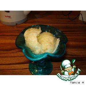 Рецепт: Мороженое из ревеня