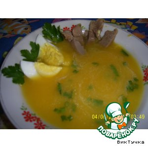 Рецепт: Суп тыквенный