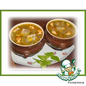 Рецепт: Суп из консервированной сайры