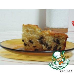 Рецепт: Апельсиново-шоколадный пирог