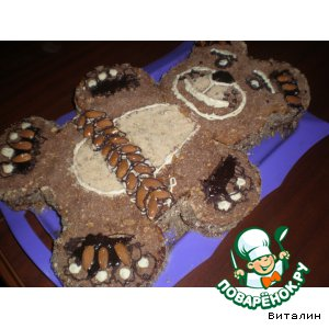 Торт Медведь