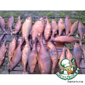 Рецепт: Лещ Золотая рыбка