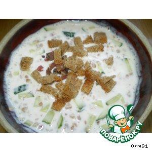 Рецепт: Холодный суп Диетический