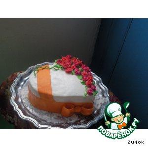 Рецепт: Торт Сердце
