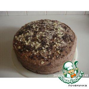 Рецепт: Торт шоколадный по-американски