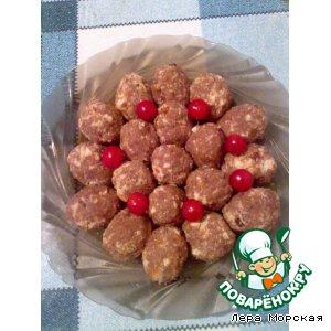 Рецепт: Сладкие орешки