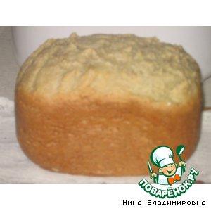 Рецепт: Диетический ячменный хлеб