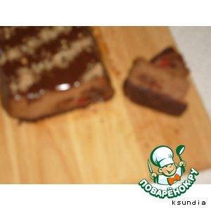 Рецепт: Чизкейк Шоколадное наслаждение