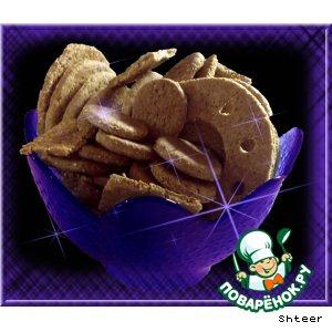 Рецепт: Ячменное печенье