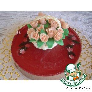 """Торт """"Шоколадно-желейный"""""""