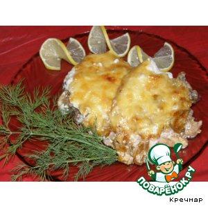 Рецепт: Мясо с лисичками в сметанном соусе