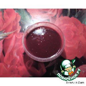 Рецепт: Кетчуп вишневый
