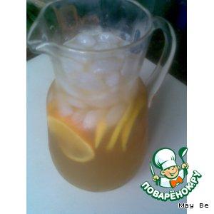 Рецепт: Холодный чай с апельсинами