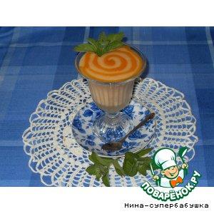Рецепт Мусс из свежих абрикосов на манке