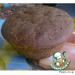 Рецепт: Хлеб Бородинский для духовки