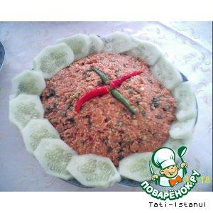 Рецепт: Чечевичные кeфте (кысыр)