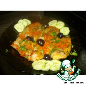 Рецепт: Голубцы овощные
