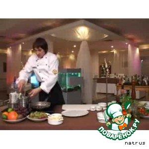 Рецепт: Медальоны из говядины с картофельным пюре